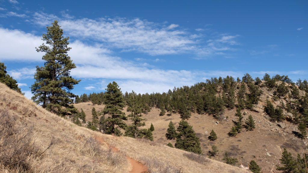 mesa trail boulder near ncar